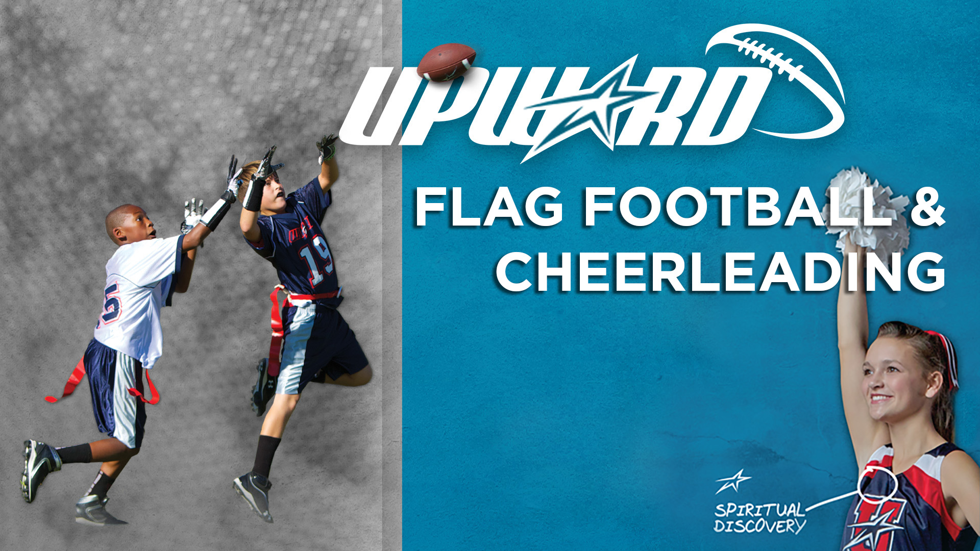 Upward Flag Football & Cheerleading