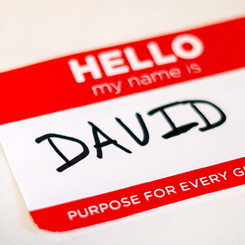 David – Purpose for Every Generation – Week 1