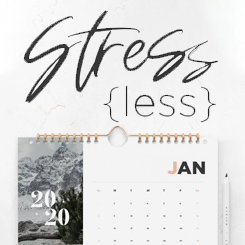 Stress Less – Week 1